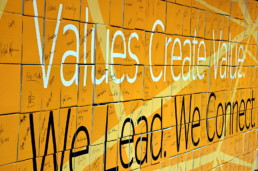 Networks – values create value