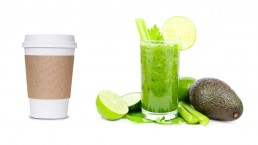 Coffee to go versus smoothie: your contact with us - as individual as you.