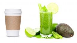 Coffee to go versus Smoothie: Ihre Kontakte zu uns - so individuell wie Sie.